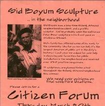 Image of Advertisement (Sid Boyum ) sculpture