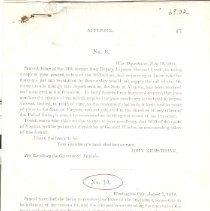 Image of Reprint: S. Pleasanton Report