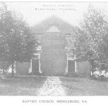 Image of Baptist Church, Middleburg, VA