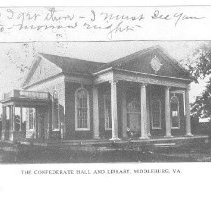 Image of Confederate Hall and Library, Middleburg, VA
