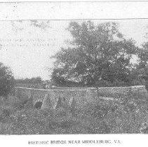 Image of HIstoric Bridge near Middleburg, VA