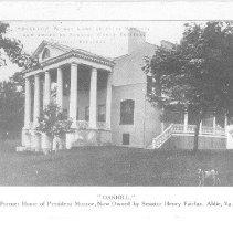 Image of Oakhill; former home of President Monroe