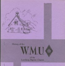 Image of History of the WMU of Leesburg