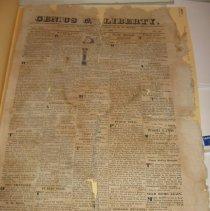 Image of Genius of Liberty Newspaper