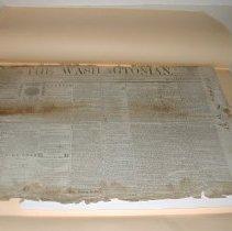 Image of The Washingtonian Newspaper 11/18/1871