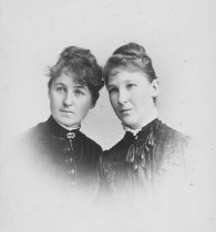 Image of May Rindge and her sister Bessie Whiting - FF-159.5