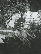 Image of Papa in his rocking chair