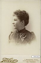 Image of May K. Rindge, ca 1887