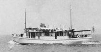 Image of Rindge family yacht Malibu
