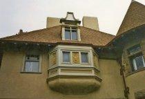 Image of Rindge home, Harvard Blvd, exterior detail - FF-518a