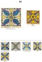 Image of Linear catalog of Malibu tiles, E51-E100 - MP-96.2