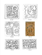 Image of Linear catalog B series. Malibu Mayan-themed tiles - MP-96.12