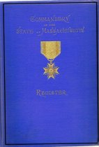 Image of A register of all the officers that served in the Civil War from Massachusetts. - Book