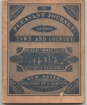 Image of The Pleasant Journey and scenes in Town and Country. - Booklet