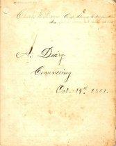 Image of 1986.033.001 - Manuscript