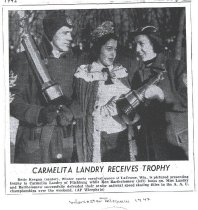 Image of 1992.037.001 - Newspaper clipping