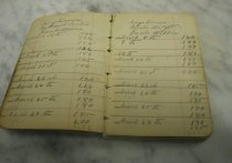 Image of 1997.019.001 - Account book