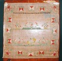 Image of needlepoint, crafts, textiles, sampler