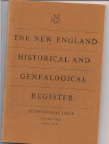 Image of NEHGR 1976  VOL  CXXX  Publication of the New England Historic and Genealogical Society  - Book