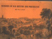 Image of one of twelve books and booklets that belonged to Mayor Hedley Bray. Memories of Old Helston and Porthleven   - book