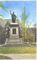 Image of Postcard/ Civil War Monument