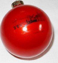 Image of Christmas Fund raising Lion's Club Fitchburg High School ornament - Christmas ornament Fitchburg High School
