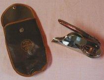 Image of embosser seal stamp Crocker Burbank & Co. - embossing Crocker Burbank & Co. seal