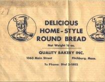 Image of packaging bakery bread - packaging bag bread Quality Bakery