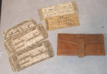 Image of Civil War wallet money - wallet Civil War money