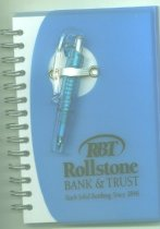 Image of advertising banking - Rollstone Bank & Trust Notepad