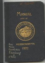 Image of Manual of City Government, City of Fitchburg 1902