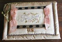 Image of World War I WWI - Souvenir pocket Souvenir handkerchief lace