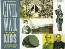 Image of  History of the Civil War in textbook format with activities in each chapter designed to show life in early America. - Book
