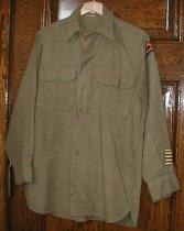 Image of WWII World War II U.S. Army uniform shirt - WWII Army uniform shirt