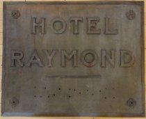 Image of Hotel Raymond Hotels hotel Sign
