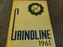Image of Burbank Hospital School of Nursing yearbook for 1961 - Yearbook