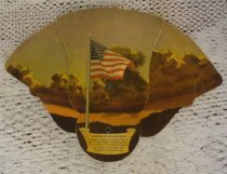 Image of advertising advertisement Carswell Hawthorne, Inc. Clothing accessories fan flag