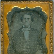 Image of Daguerreotype  of unidentifed man