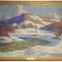 Image of A Wintry Scene