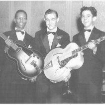 Image of Charlie Christian,Benny Goodman and Arnold Covay