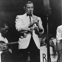 Image of Charlie Christian and Benny Goodman