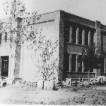 Image of Dodd City School. - Fannin County Schools Collection