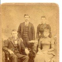 Image of Robert Johnson, Aunt Fannie, Fanny Allen and Tom McKee