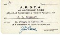 Image of 2017-07-0010 - Card, Membership