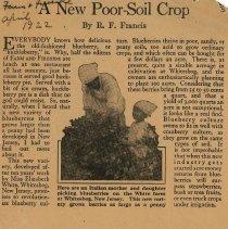 Image of New Poor Soil Crop