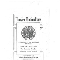 Image of Journal of Hoosier Horticulture