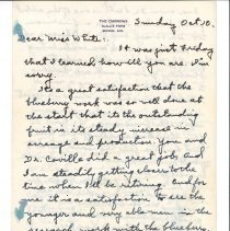 Image of Letter Darrow to E. C. White