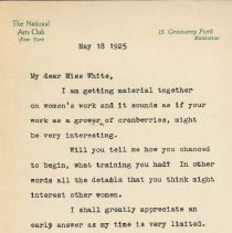 Image of 1984.2.15 - Letter