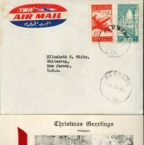 Image of 1984.2.30 - Card, Holiday