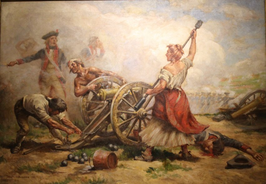 1936 02 030 molly pitcher the battle of monmouth 1778